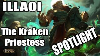 ILLAOI The Kraken Priestess Spotlight Champion LOL German Deutsch NEW Patch 5.23