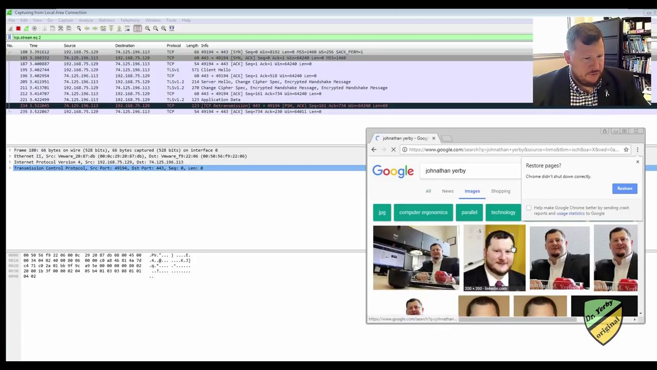 Open or record a Pcap or Pcapng file in Wireshark