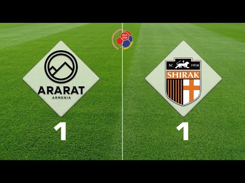 Ararat-Armenia - Shirak 1:1, Armenian Premier League 2019/20, Week 19