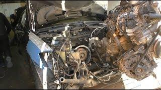 Первый пуск подснежника Mercedes W221 5.5 за 265.000 р. Эпизод 8.