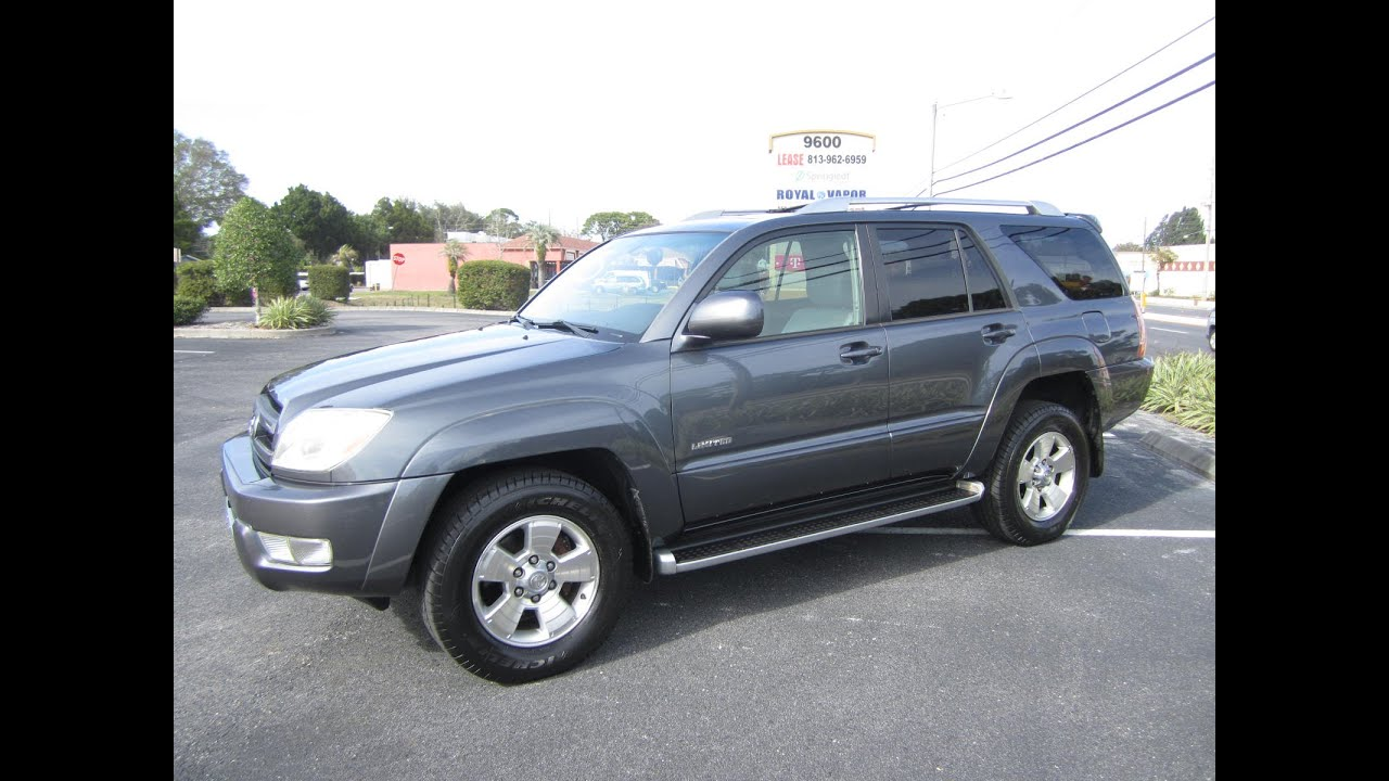 Sold 2003 Toyota 4runner Limited 2wd Meticulous Motors Inc Florida For Sale Youtube