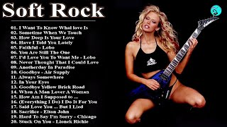 Greatest Soft Rock Love Songs Of The 70s 80s 90s - Rod Stewart Air Supply Phil Colins Lobo