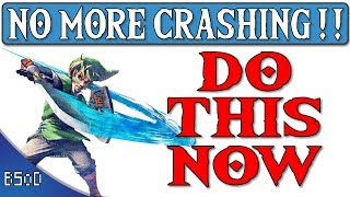 CEMU 1.11.3   Fixing all the Crashing   Zelda Breath of the Wild