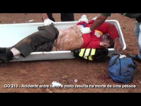 Colisão entre carro e moto resulta na morte de uma pessoa em Caldas Novas