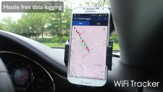 WiFi Tracker for Android wardriving app