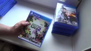 Мои игры для Playstation 4. Чего накопилось за все время