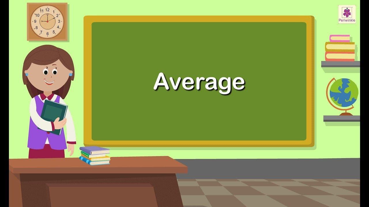 Download Average | Mathematics Grade 5 | Periwinkle