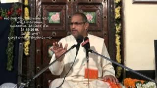 Day 3 (First part) of 3 Sundarakanda at Undrajavaram by Chaganti (Ramayanam Episode 3A)