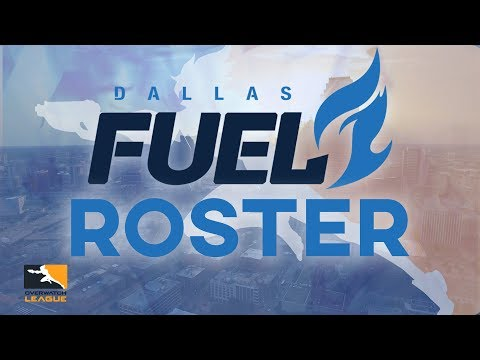 2017 OWL Dallas Fuel Roster