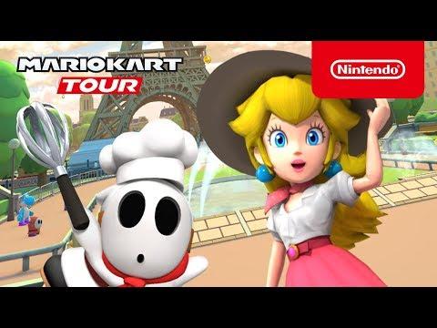 Mario Kart Tour - Paris Tour Trailer