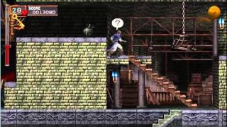 Castlevania: The Dracula X Chronicles - Gameplay - User video