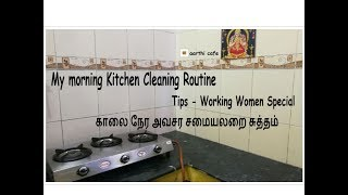 My Morning Kitchen Cleaning Routine  Tips - Working Women Special