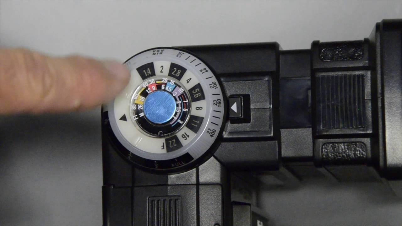 vivitar 285 hv flash controls youtube rh youtube com vivitar zoom thyristor 285 flash manual vivitar zoom thyristor 285 flash manual