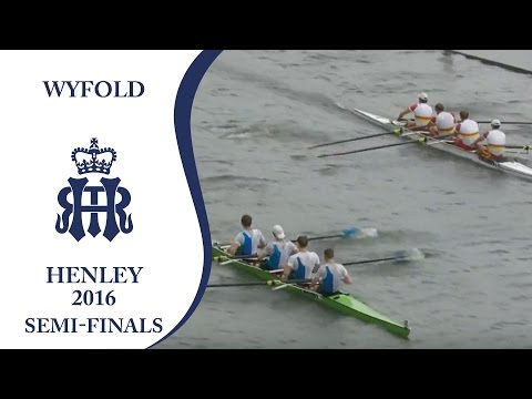 Scullers' 'A' v Zürich | Semi-Finals Day Henley 2016 | Wyfold