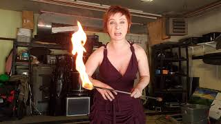 How to Allow for More Paranormal Events - Paranormal Researcher Morgan Knudsen teaches with FIRE