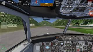 Aerofly FS1 - 737-500 Takeoff At Regional Airport *almost overun*
