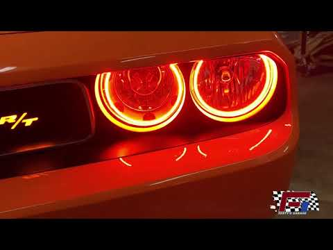 ORACLE Ford Mustang 2005-2009 AMBER LED Headlight Halo Angel Eyes Kit