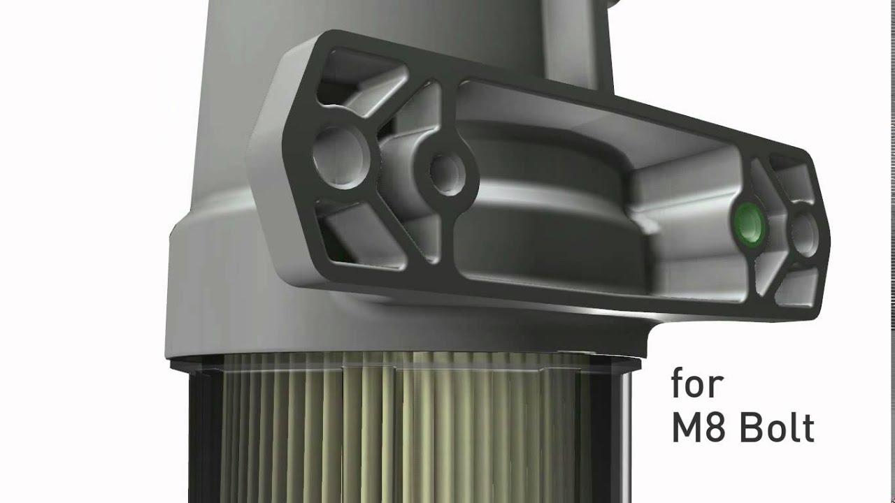 medium resolution of parker racor greenmax fuel filter water separator