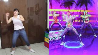 dance central 3 get low hard 100 por why so sara
