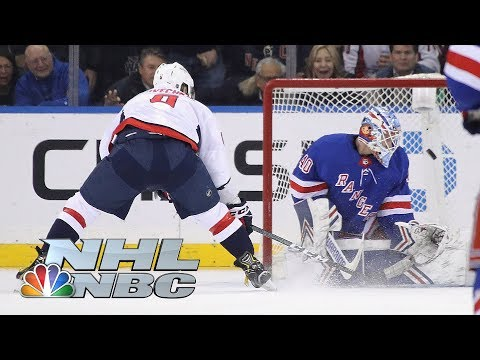 Washington Capitals Edge New York Rangers In Exciting Shootout | NHL | NBC Sports