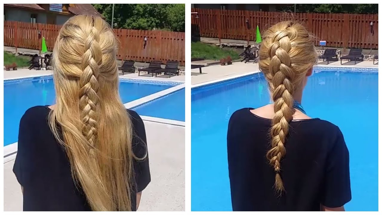 Impletitura Spic 2 Coafuri De Vara 2 Braided Summer Hairstyles