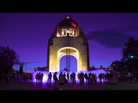 Monumento a la Revolución Timelapse Mexico City 2017