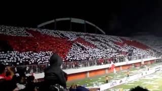 Koreografi Suporter PSS Sleman Brigata Curva Sud - Timnas U23 Vs Brunei U23 (15 Agustus 2013)