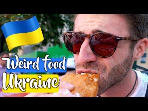 UKRAINE STRANGE FOOD: Would You Try THIS?! (Kiev, Ukraine)