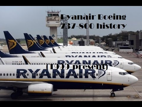 Fleet History - Ryanair Boeing 737-800 (1999-present)