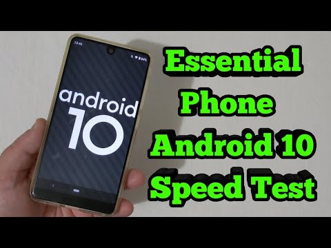 Android 10 - Essential Phone - Android 10 vs Android 9!!!