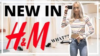 NEW IN H&M | COME SHOPPING WITH ME + TRY ON