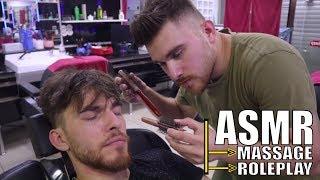 ASMR MASSAGE & ASMR ROLEPLAY TALKING (asmr head massage, asmr ear massage..)