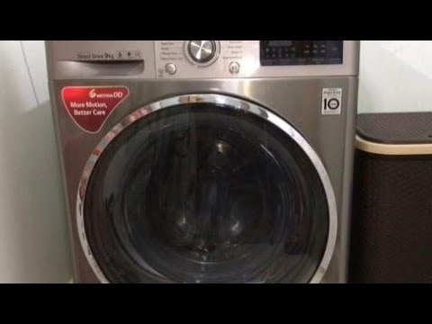 LG 9Kg Front Load Fully Automatic Washing Machine Review And Demo In Hindi