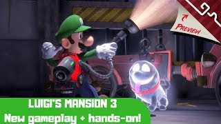 Luigi's Masion 3 - New gameplay, and hands-on impressions!