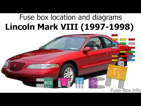 Fuse box location and diagrams: Lincoln Mark VIII (1997-1998) - YouTubeYouTube