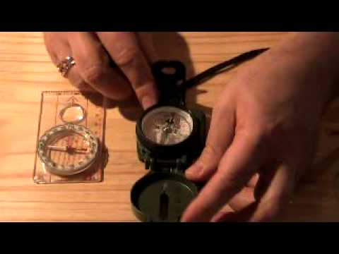 Lensatic compass by Cammenga