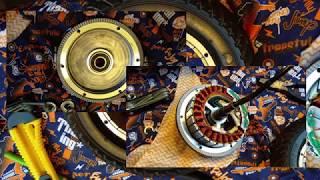 Как полностью разобрать мотор колесо самоката Kugoo. Катание под дождем - что ждет внутри?