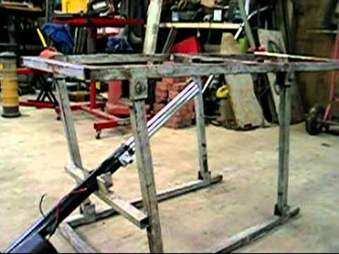 How To Make A Motorcycle Lift Table