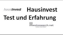Hausinvest Immobilienfond -  Test und Erfahrung