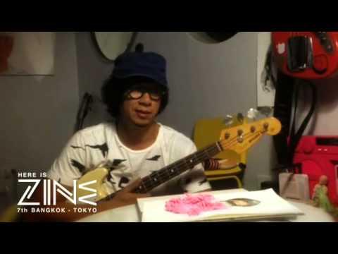 Here is ZINE 7th Bangkok - Tokyo : Artists Lineup 001