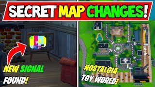 "*NEW* FORTNITE SECRET MAP CHANGES v9.01 ""HIDDEN SIGNAL FOUND!"" + ""Safe Zone!"" - Season 9 Storyline"