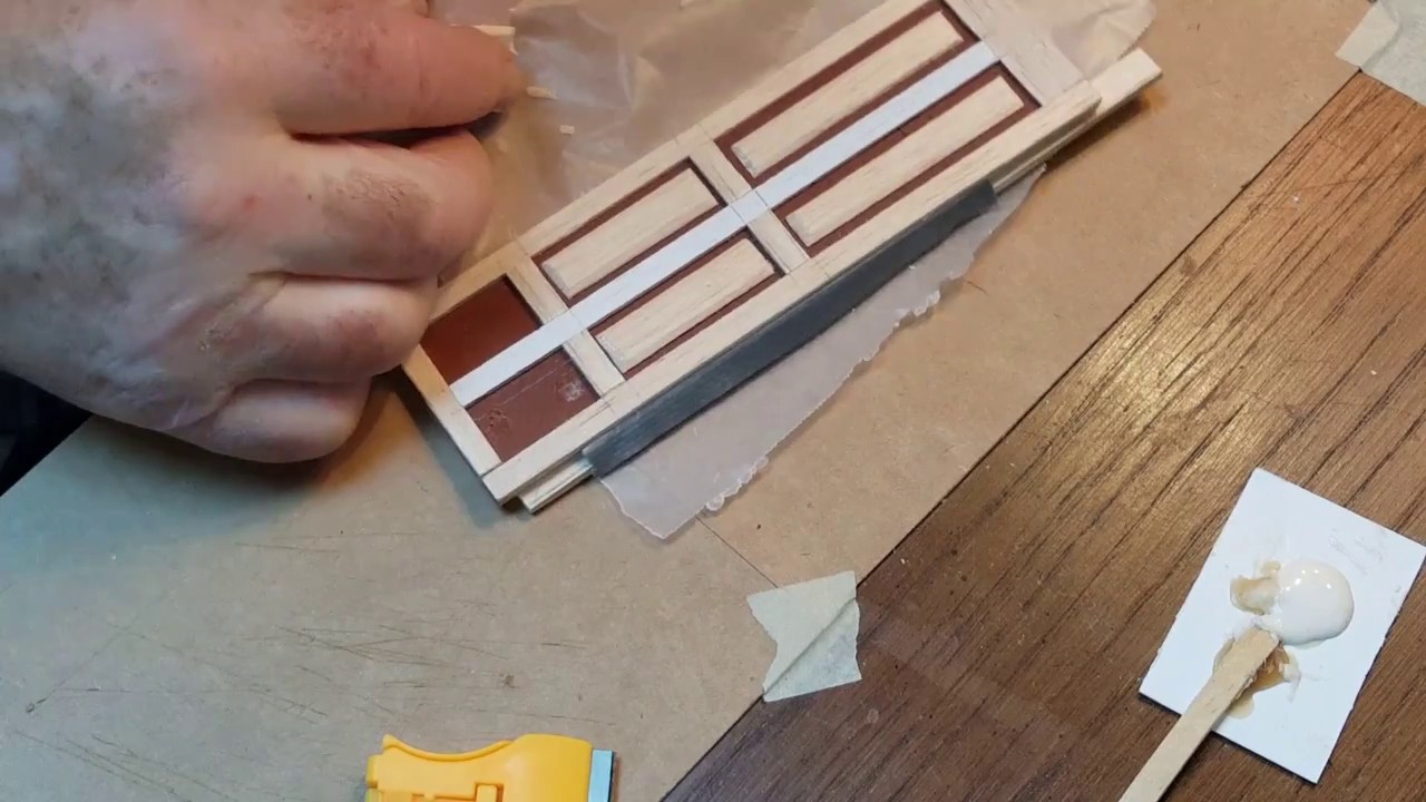 Diy Miniature Dollhouse Doors Youtube
