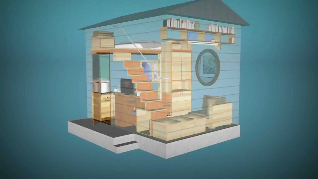 Cube  affordable tiny houses 12 sqm 4x3m  YouTube
