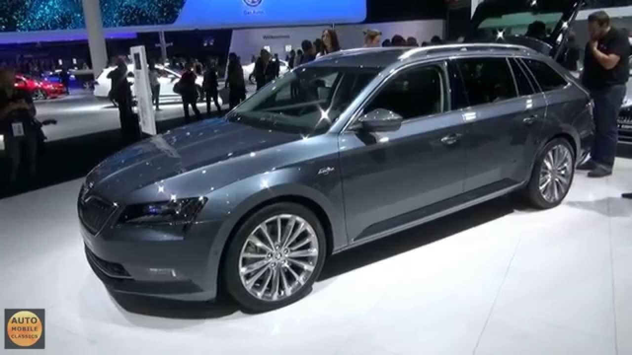 2016 skoda superb kombi iaa frankfurt 2015 youtube. Black Bedroom Furniture Sets. Home Design Ideas