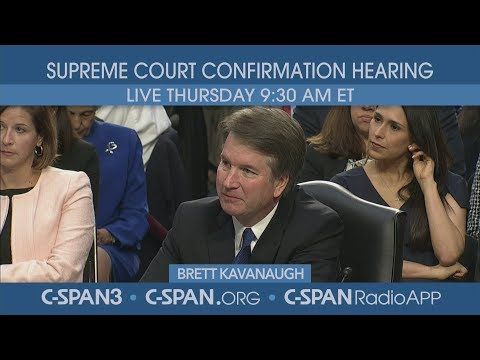 LIVE: Confirmation hearing for Supreme Court nominee Judge Brett Kavanaugh (Day 3) Mp3
