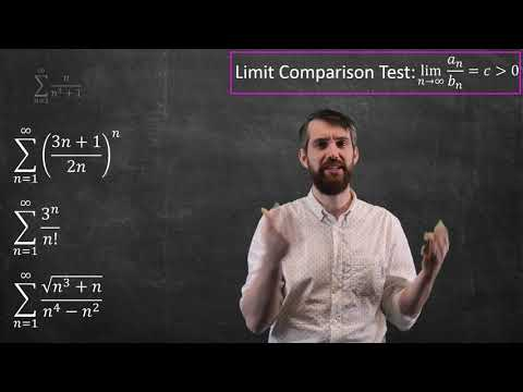 Choosing Which Convergence Test To Apply To 8 Series