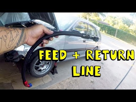 K20 Aluminum to Steel pan swap | K20 turbo wagon EP4
