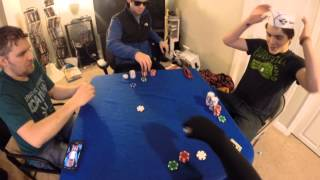 Poker Night Adventures with friends-Pt 1