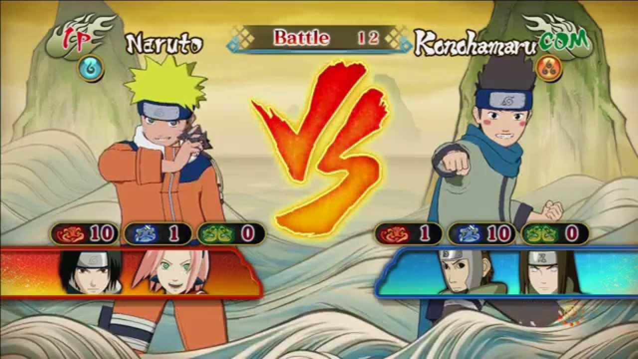 Konohamaru Vs Naruto (Genin): Naruto Shippuden Ultimate ...