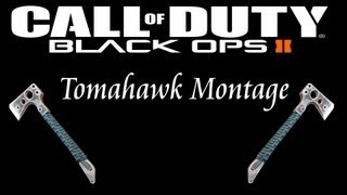 Call of Duty: Black Ops 2 Tomahawk Montage + Trickshot with Tomahawk